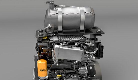 מנוע ה-Stage V שנכנס לשימוש בכלים החדשים של JCB